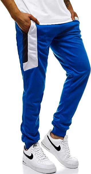 Herren Trainingshose Jogginghose Sporthose Fitness Hose Schwarz//Grau//Blau Neu