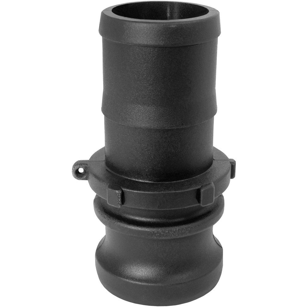 Gator Lock E Series 1-1/2'' - Polypropylene Male Adapter - Hose Shank - GLP150E by Maxx Flex (Image #1)
