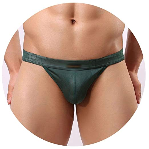 04339f86b408 Image Unavailable. Image not available for. Color: Men Funnyy Lace  Transparent Personal Briefs Bikini G-String Thong Jocks Tanga Underwear ...