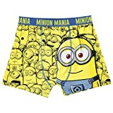 Character Kids Single Boxer Junior Boys Trunks Underwear Accessories Minions 9-10 (MB)