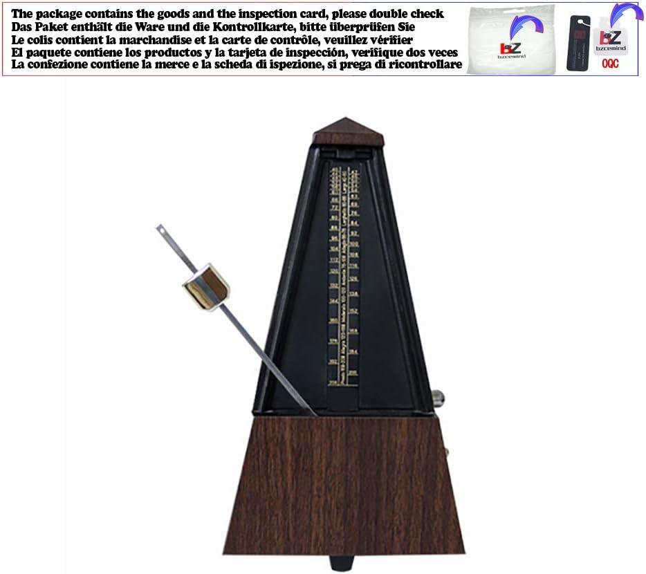 Guitar Metronome Online Mechanical Pendulum Mecanico Madera color para guitarra Piano Violín Instrumento musical, GMG1