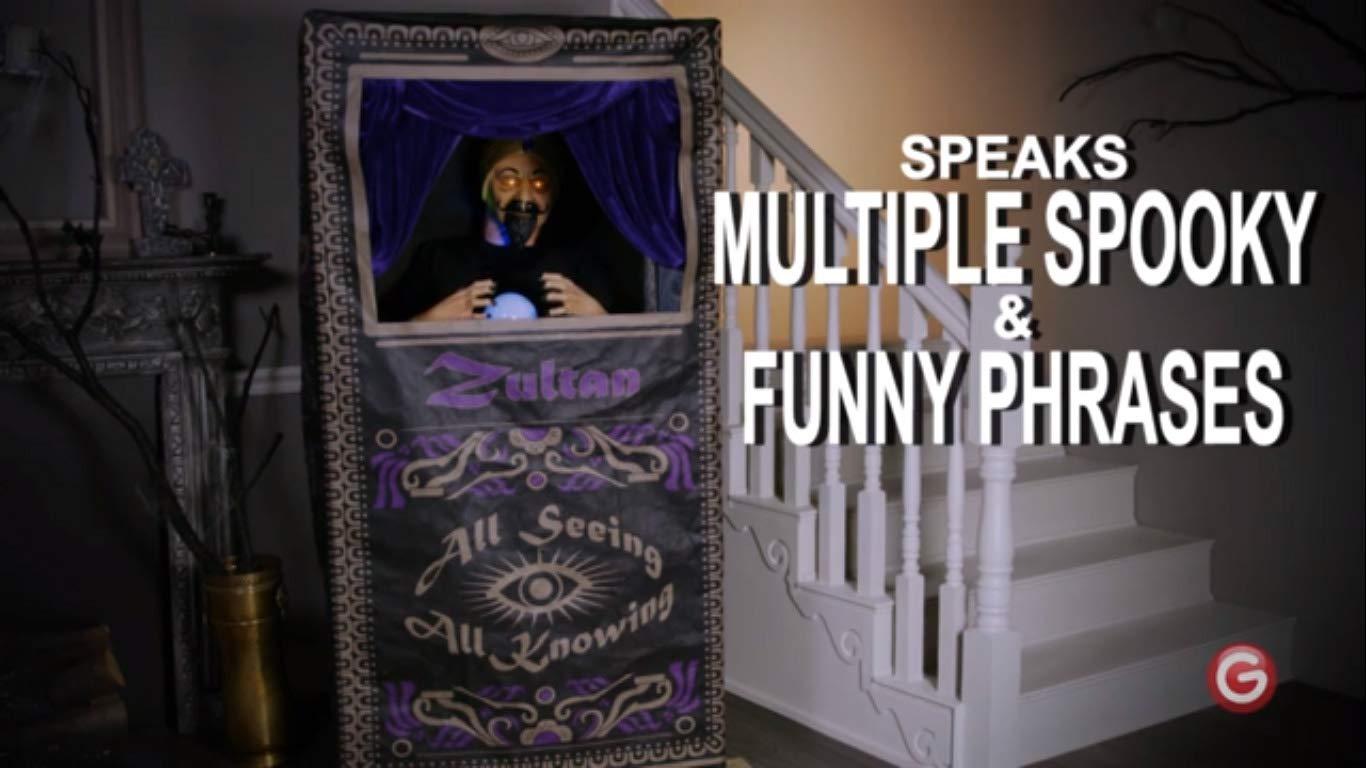 Halloween Fortune Teller Animatronic.Amazon Com Holiday Living Gemmy Led Animated Halloween Fortune
