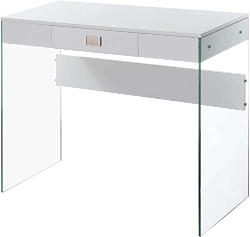 Convenience Concepts SoHo Glass 36 Desk