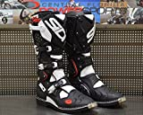 Sidi Crossfire 2 TA Off Road Motorcycle Boots Black / Whi...
