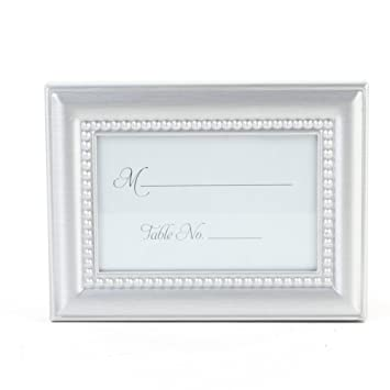 5d6bd373048f Amazon.com  Koyal Wholesale 24-Pack Beaded Frame Placecard Favor ...