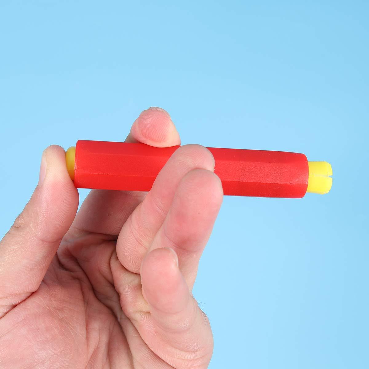 NUOBESTY 5 ST/ÜCKE bunte kreidehalter ungiftig kid kunststoff kreide lagerung halter mit box