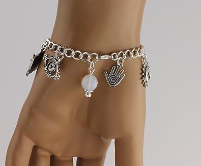 Venetian Tarot Bracelet Tarot Card Magic Bohemian Bracelet Spiritual Bracelet Fortune Teller Prediction Talisman Charm Gypsy Bracelet