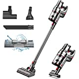 Proscenic P11 Cordless Cleaner, Stick Handheld Vacuum with Mop, 25000pa Powerful Motor Touch Screen, Removable Battery, 3 Adj