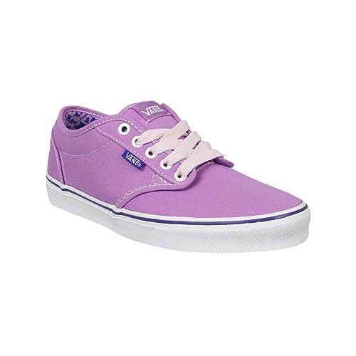 Vans Pastel para mujer Atwood ligero traje de neopreno para mujer zapatillas de cordones de zapatilla de deportes, color púrpura, talla 39: Amazon.es: ...