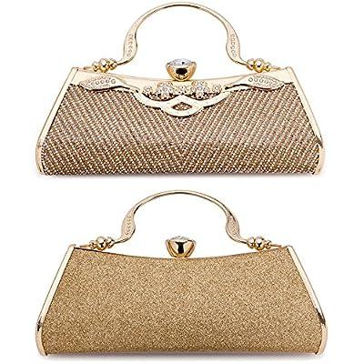 Women Clutch Evening Bag Elegant Classic Shoulder Bag Luxurious Handbag Purse
