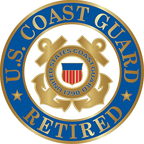 US Coast Guard Retired Hat or Lapel Pin ()