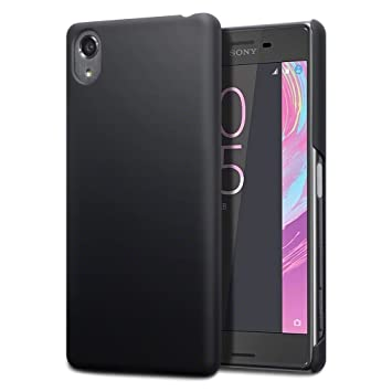 the latest 9cf16 16459 TERRAPIN Xperia X Performance Case Sony Xperia X Performance Cover - Ultra  Slim Fit Hybrid - Hard Case Protection - Rubberised Finish - Black