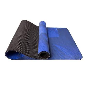 HYTGFR Esterilla Yoga Antideslizante 5Mm Estera De Yoga De ...