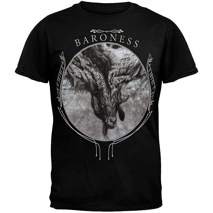 6c5f6656ad1 Amazon.com  Old Glory Baroness - Mens Goat Storm T-shirt Small Black ...