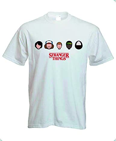 Camiseta Stranger Things Faces (XL): Amazon.es: Ropa y accesorios