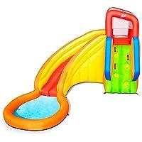 Bestway 53347 - Castillo Hinchable Acuático Splash Tower Mega Parque 366x337x241 cm