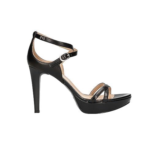 NERO GIARDINI Sandali scarpe mod. donna nero 6040 elegante mod. scarpe P806040DE 59f43f