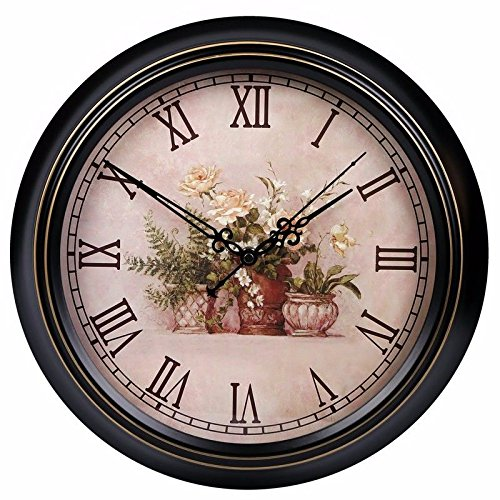 オフィス用寝室用リビングルーム用静音壁掛け時計、J B07DW8BCGW J J