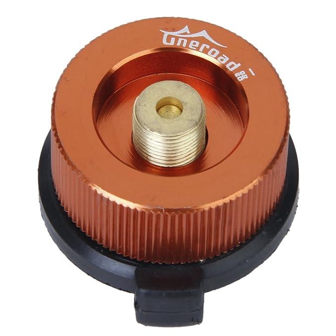 Boquilla Conector Adaptador De Transferencia Para Botella Gas Hornilla Estufa: Amazon.es: Deportes y aire libre