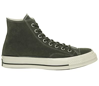 d953aa1e425d2 Amazon.com | Converse Men's Chuck Taylor 70 Base Camp Suede High Top  Sneakers, Utility Green, 10 M US | Fashion Sneakers