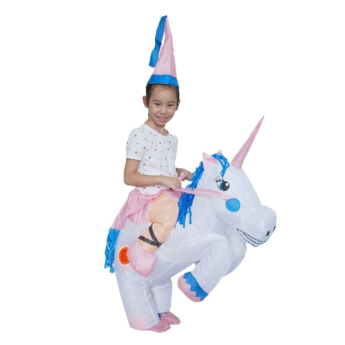 Inflatable Unicorn Costume Pegasus Costumes Holiday Party Dress Up by Crystalbella Inflatable Cos