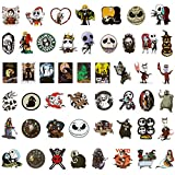 Halloween Stickers, 50pcs The Nightmare Before