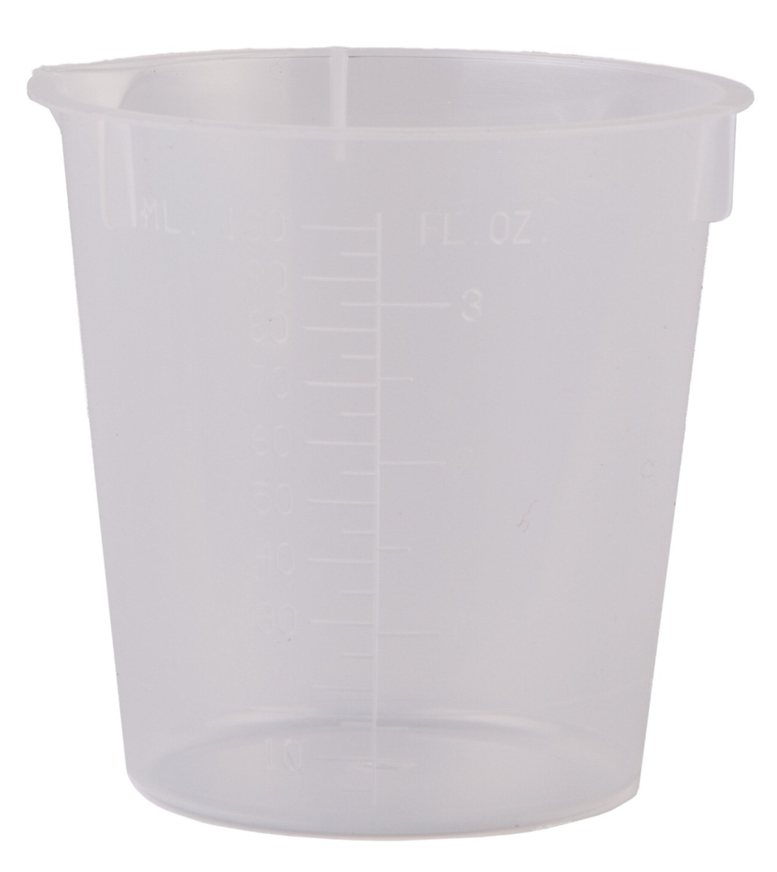 Consolidated Plastics 45388 Disposable Beaker, Polypropylene, 600 mL, 50 Piece by Consolidated Plastics