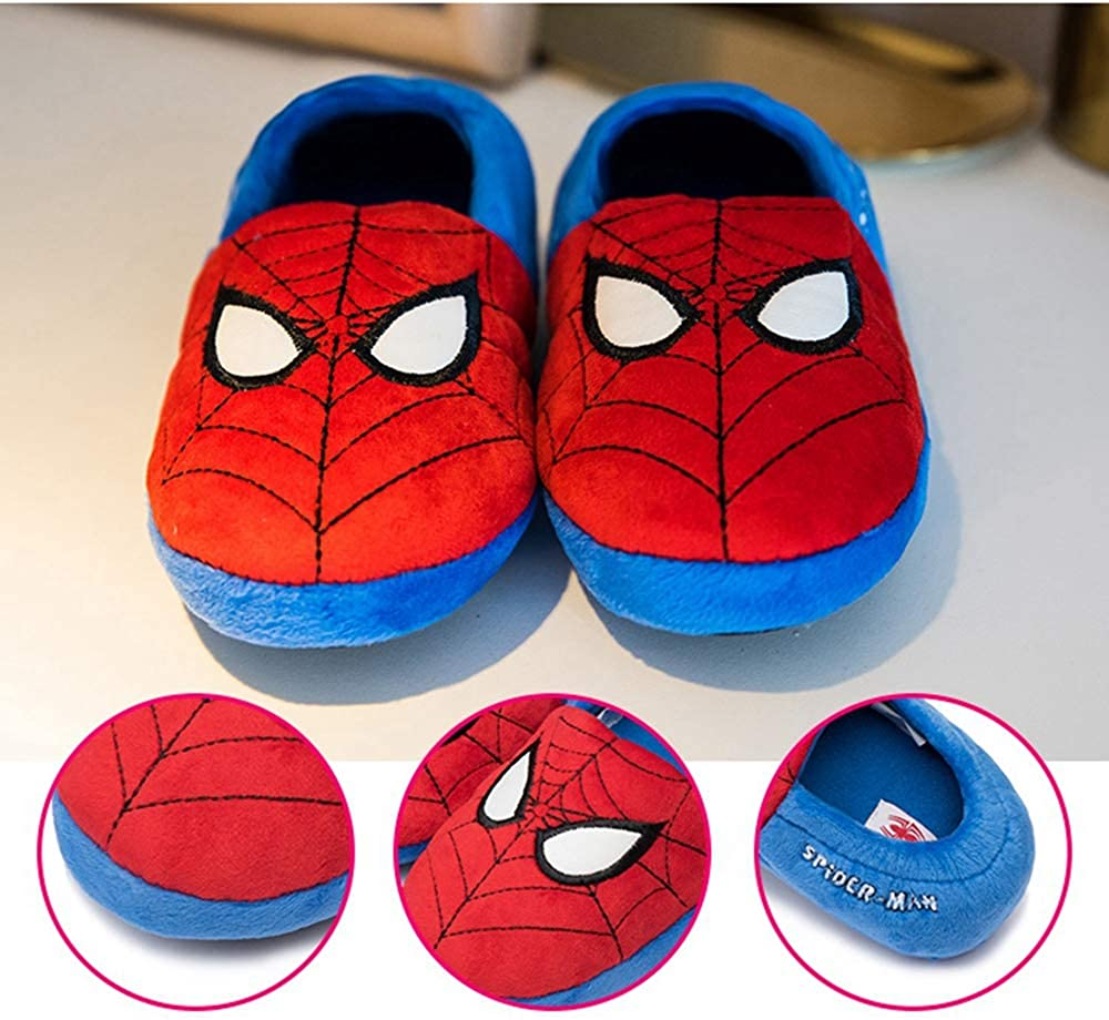Toddler Kids Spider-Man Package Root Slippers