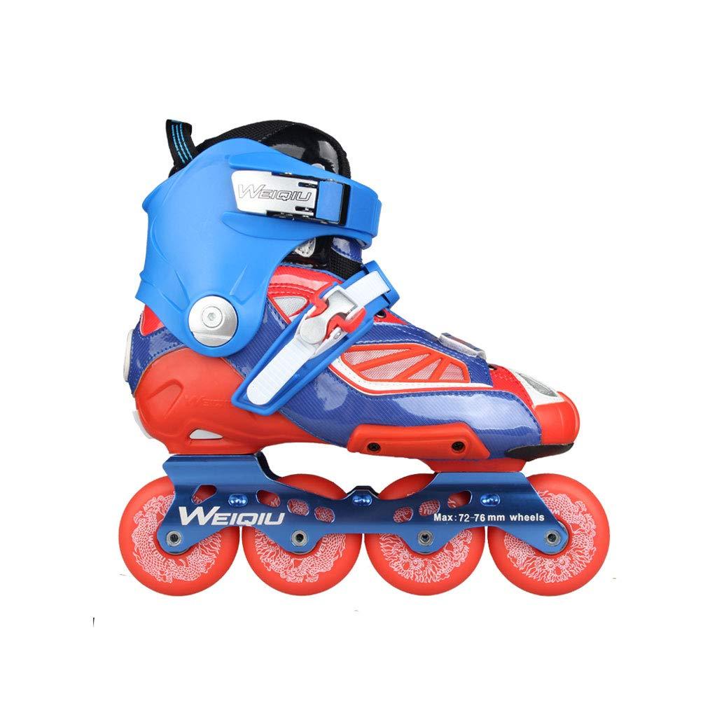 ailj インラインスケート、スケート、大人の男の子、ローラースケート、プロの多目的スケート(3色) (色 : 青, サイズ さいず : EU 44/US 11/UK 10/JP 27cm) B07JWK23JK EU 36/US 4.5/UK 3.5/JP 23cm|Red Red EU 36/US 4.5/UK 3.5/JP 23cm