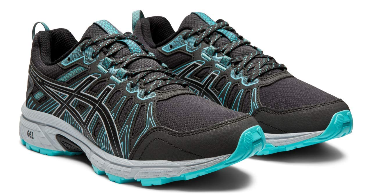 ASICS Gel-Venture 7 Women's Running Shoes, Graphite Grey/Performance Black, 8 W US by ASICS