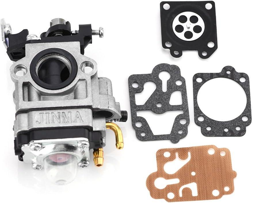 Zerodis Carburador Cortacésped Piezas De Repuesto Con Reparación Equipos Para CG430CG520BC430bc520Libre Schneider