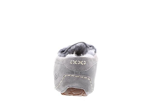b31e5cfa9ba UGG Women's Ansley Fur Bow Geyser Loafer: Amazon.ca: Shoes & Handbags