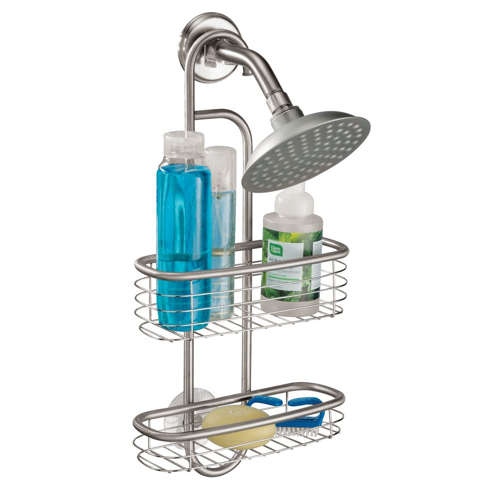 Amazon.com: InterDesign Forma Ultra Bathroom Shower Caddy for ...
