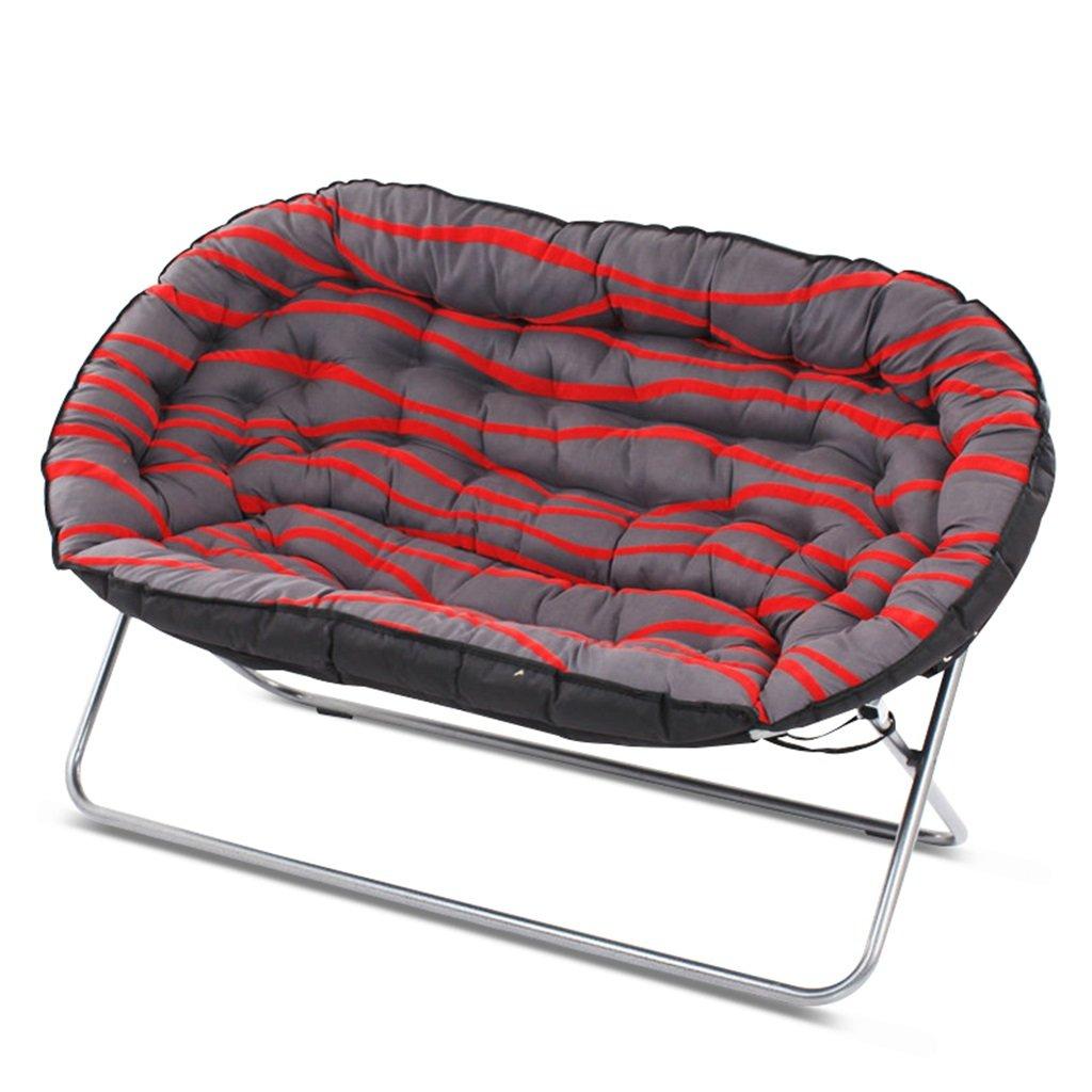 Bodenstuhl Doppeltes Gepolstertes Stuhl-Recliner, Weiches Und Bequemes Faules Sofa Mit Tief-eingestellt, Für Wohnzimmer-Aufenthaltsraum-Schlafzimmer, 200kg