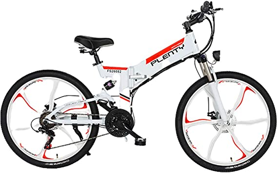 HAOYF Bicicletas Eléctricas para Adultos, Bicicletas Eléctricas ...