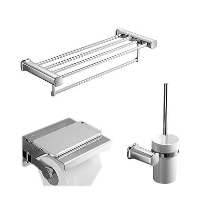 Estante de baño AMINSHAP Acero Inoxidable para el hogar Baño ...