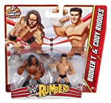 WWE Rumblers Booker T and Cody Rhodes Figure, 2-Pack