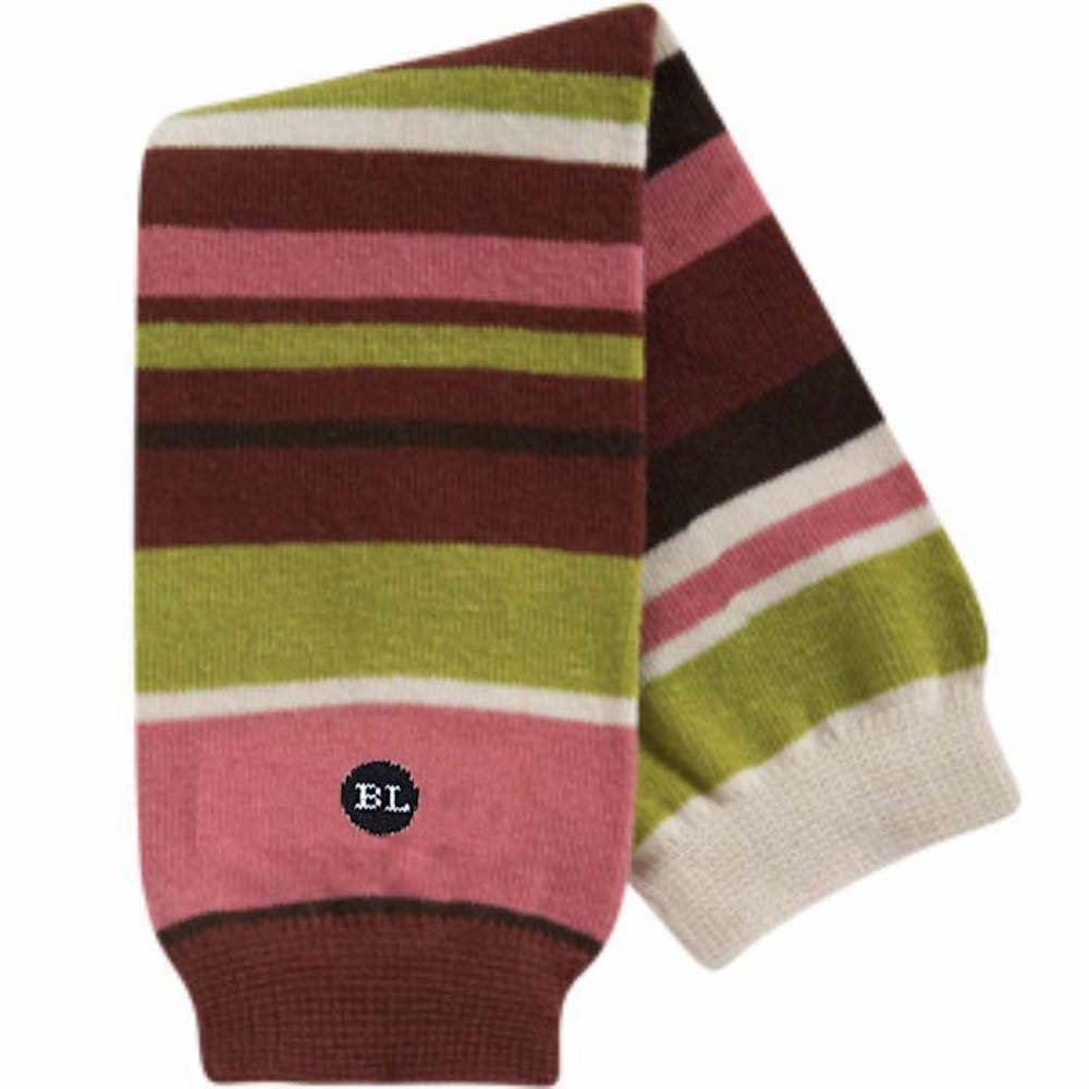 BabyLegs Marzipan-Organic Leg Warmers, Burgundy/Pink/Green Stripe, One Size Fits Most; Up Till 10 Years Old BabyLegs®