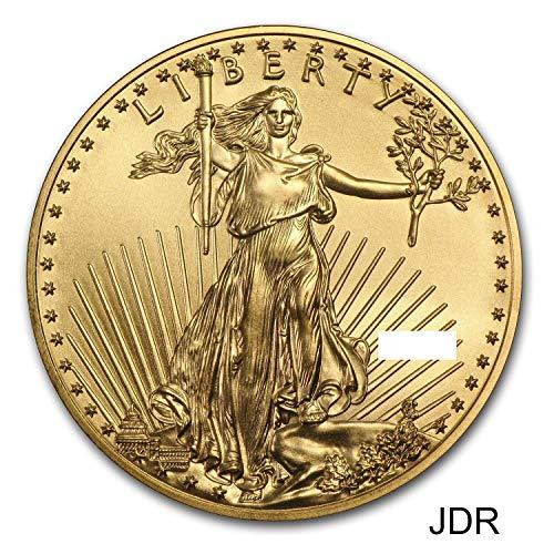 Gold Rare Coin (1986 - Present 1/10 oz. American Gold Eagle (Random Year) $5 BU)