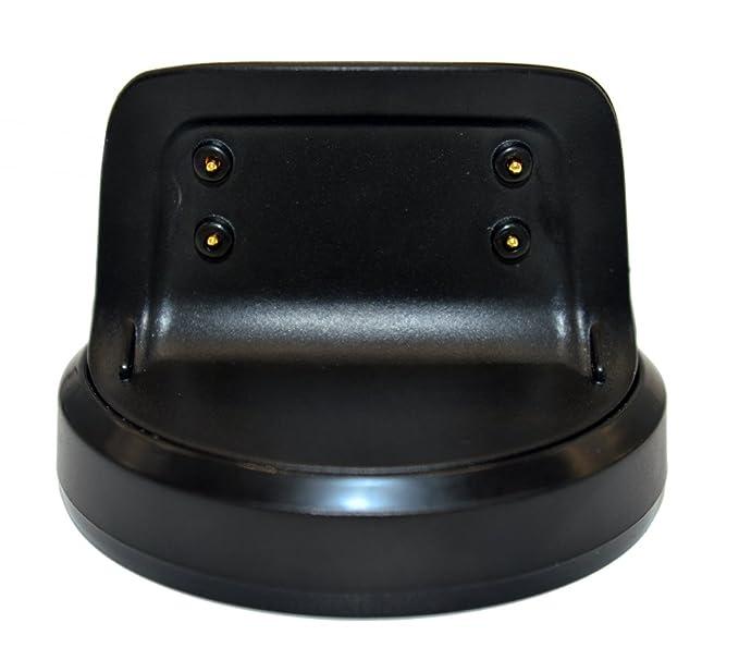 VICARA Aimtel - Cargador Compatible con Samsung Gear Fit 2 y Fit 2 Pro con Cable de Carga USB (Negro)