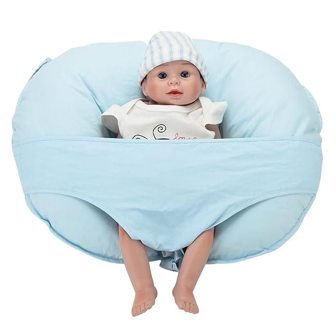 lekebaby lactancia materna cojín de lactancia con extraíble Mini ...