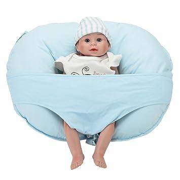 lekebaby lactancia materna cojín de lactancia con extraíble ...