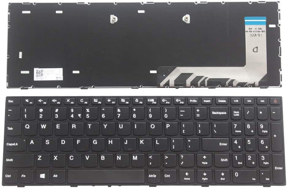 New Laptop Replacement Keyboard Fit Lenovo IdeaPad 110-15ISK 110-17ACL 110-17IKB 110-17ISK US Layout