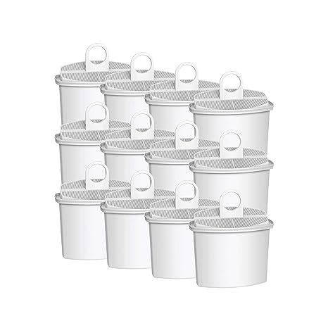 AquaCrest AQK-12 Compatible Braun Brita KWF2 Filtro de Agua para máquinas de café (