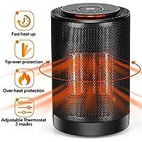 LONOVE PTC Space Heater - Portable Ceramic Heater for...