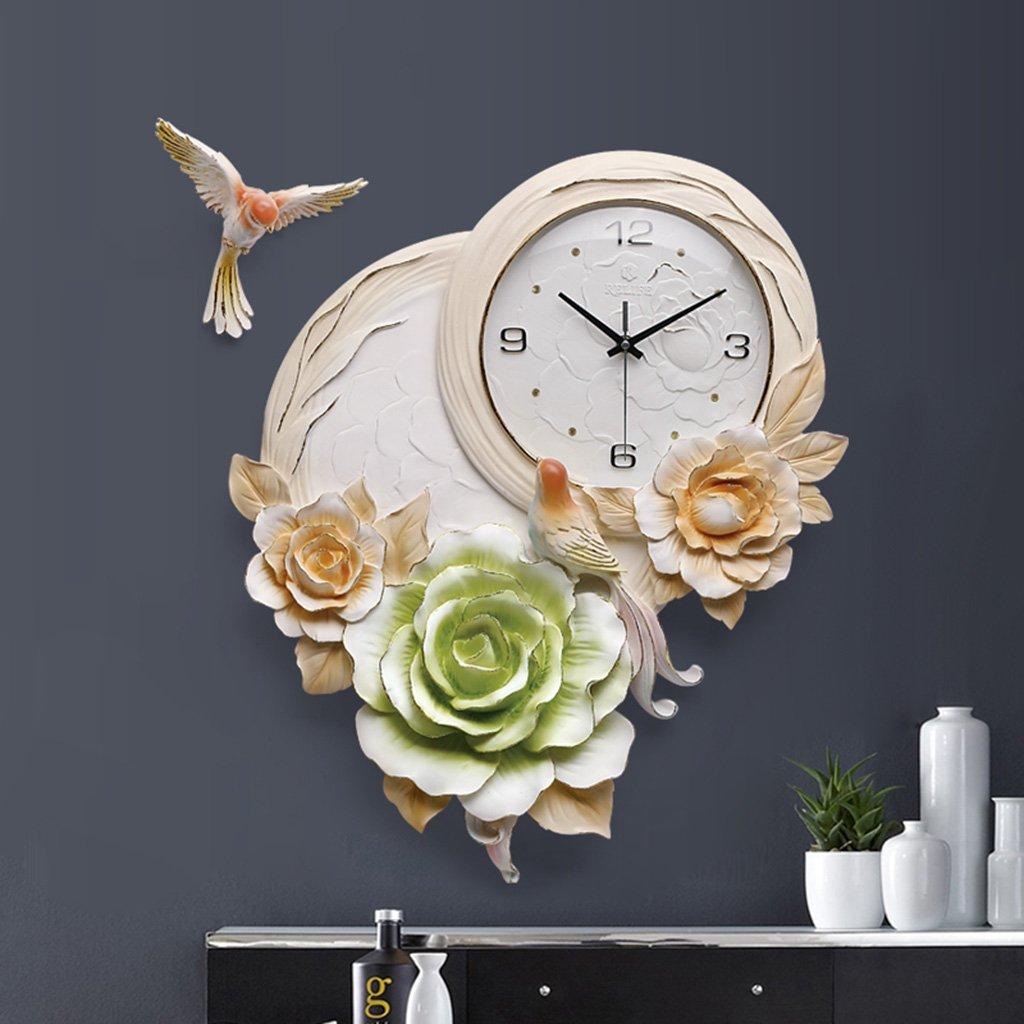 GRJH® バードウォールクロック、リビングルームの時計3次元の創造性のベッドルームホームベルミュートパーソナリティ時計装飾的な時計57x42cm クリエイティブファッションシンプル ( 色 : #3 ) B07CMLY2JJ #3 #3