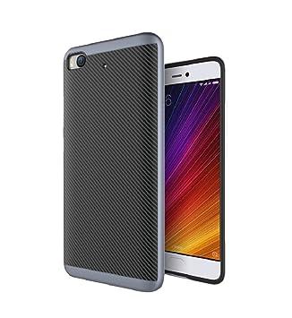 Baanuse Xiaomi Mi5S Funda,Xiaomi 5S Funda [Alta calidad] [Suave Durable TPU + PC de doble capa] [Carbono Fibra Texturizado] [Shockproof Armor] Carcasa ...