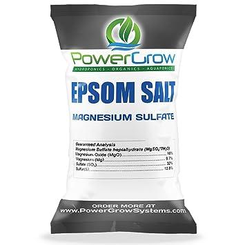 EPSOM SALT (Magnesium Sulfate) Agricultural Grade BULK (25 Pounds)
