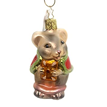 Christmas Mouse Glass Ornament Inge Made in Germany New - Amazon.com: Christmas Mouse Glass Ornament Inge Made In Germany New