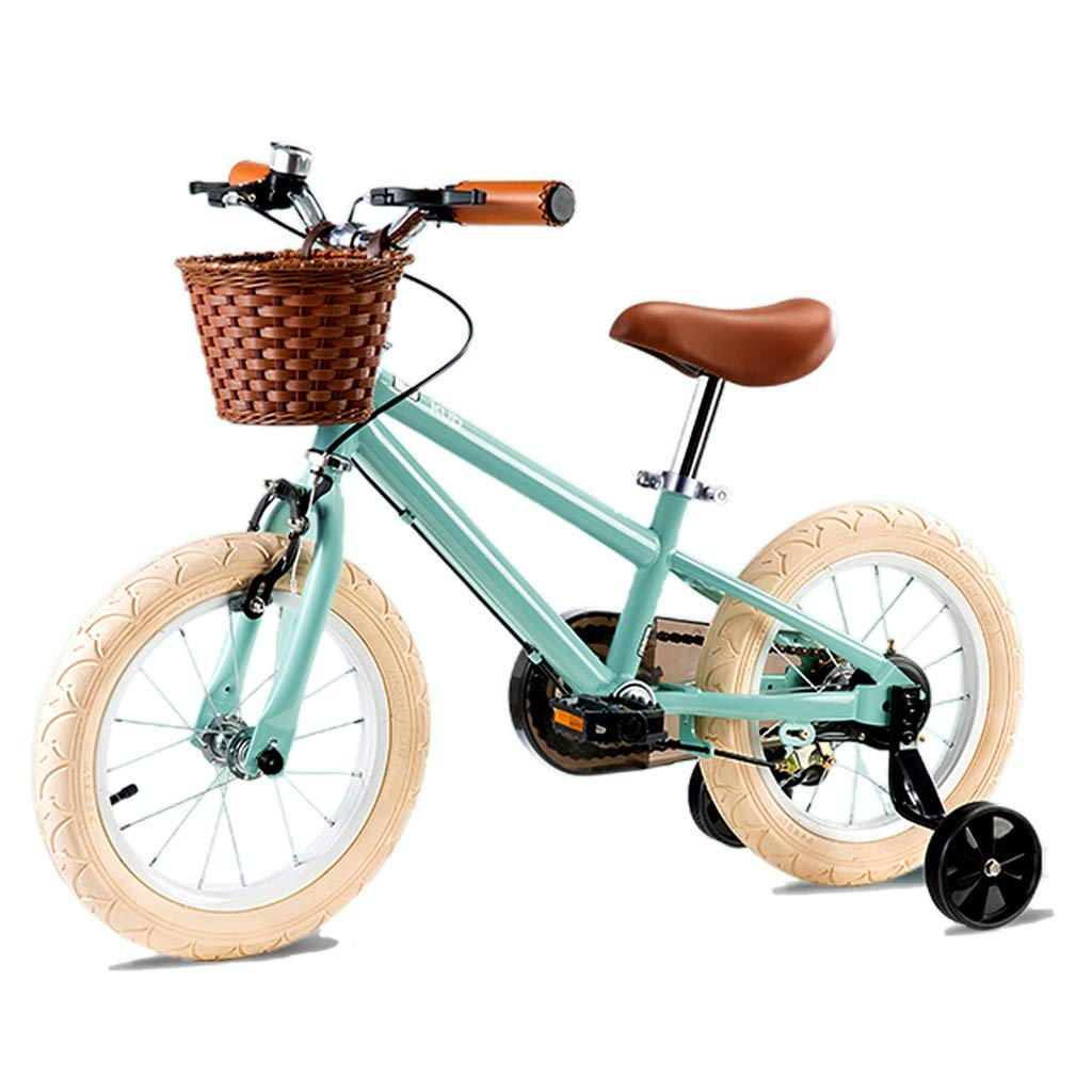 子供の自転車 ファッションアウトドア子供の自転車 男の子と女の子の自転車 子供の自転車 子供の屋外玩具自転車 屋外のお出かけの子供の自転車 (Color : Blue, Size : 16 inches) 16 inches Blue B07Q49J3Q9